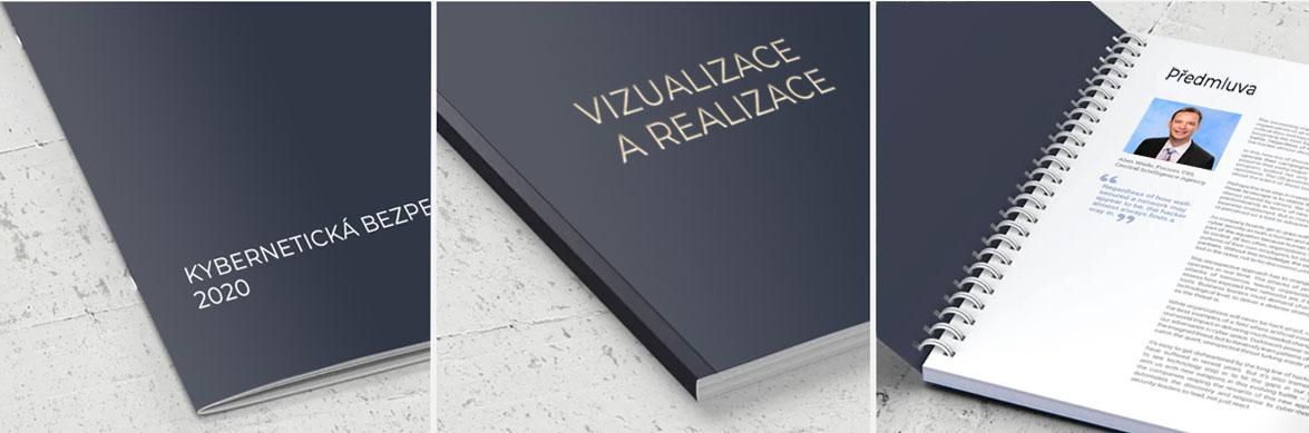 vazby brožur katalogů knih