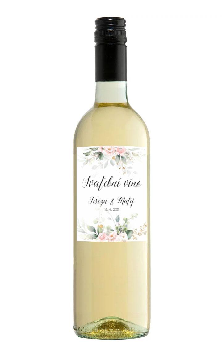 Samolepa na víno