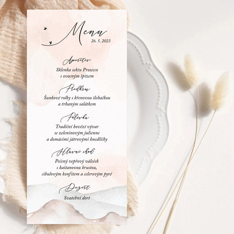 Svatební oznámení MK237