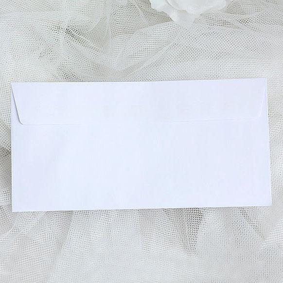 Obálky bílé DL