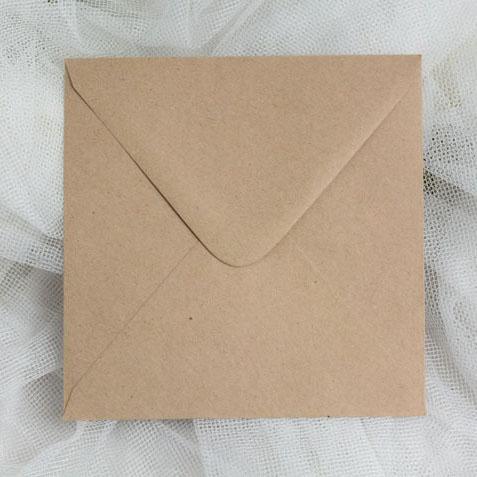 Square Craft Envelopes