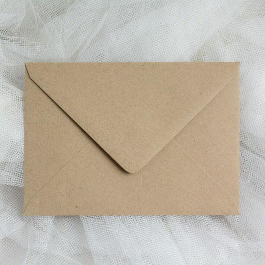 Craft Paper Envelopes D6