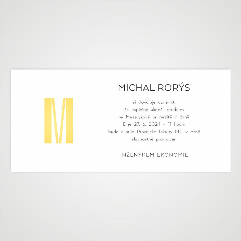 Promočné oznámenia Masarykova univerzita