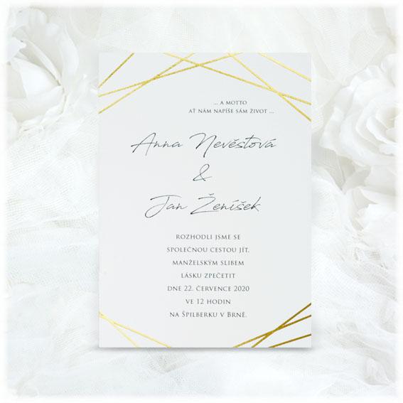 Svatební oznámení SK132