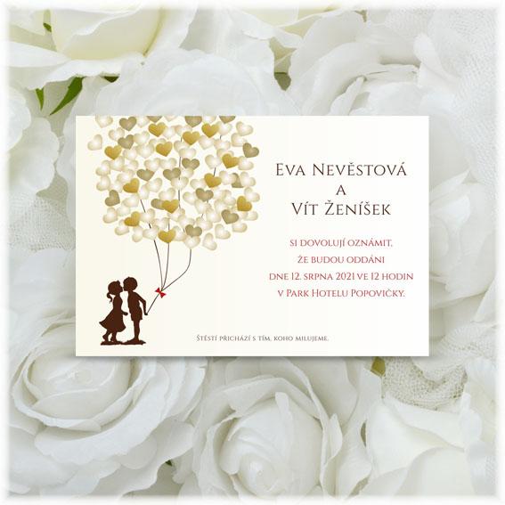 Wedding Invitation ballon