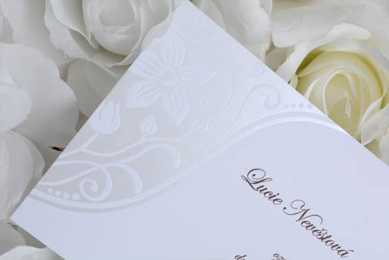 Svatební oznámení SK208