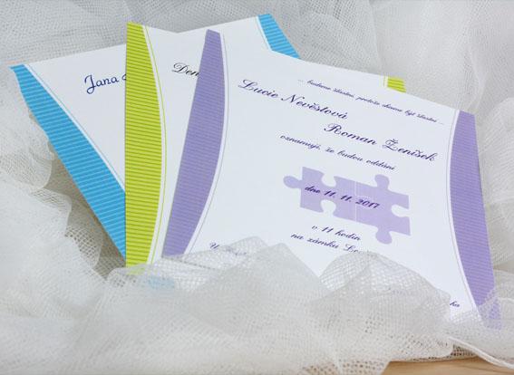Svatební oznámení SK211