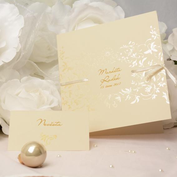Svatební oznámení SK263