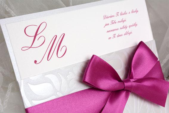 Svatební oznámení SK320m