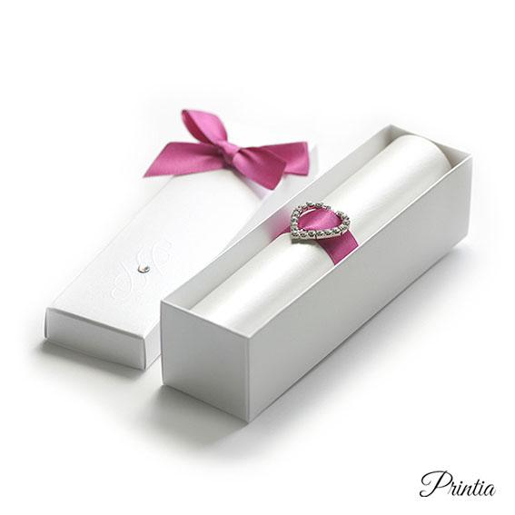 Svatební oznámení v perleťové krabičce