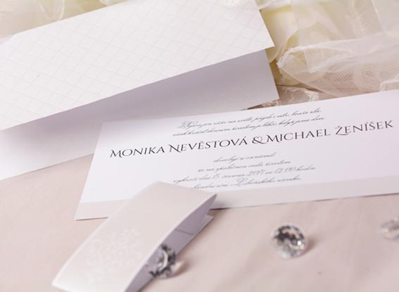 Svatební oznámení SK333