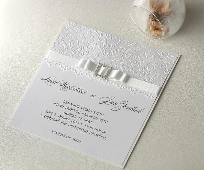 ukázka svatební oznámení zkompletované