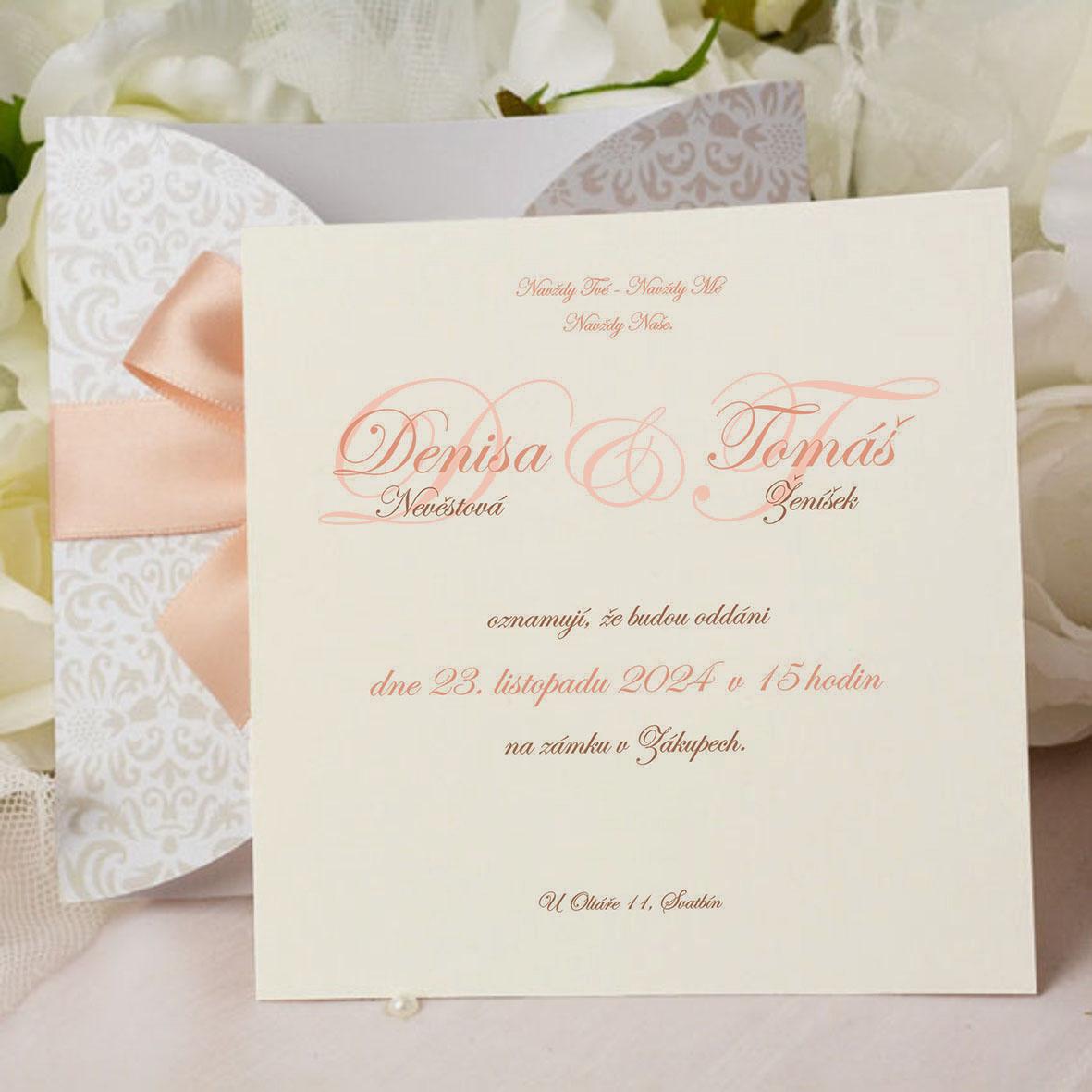 Svatební oznámení SK347