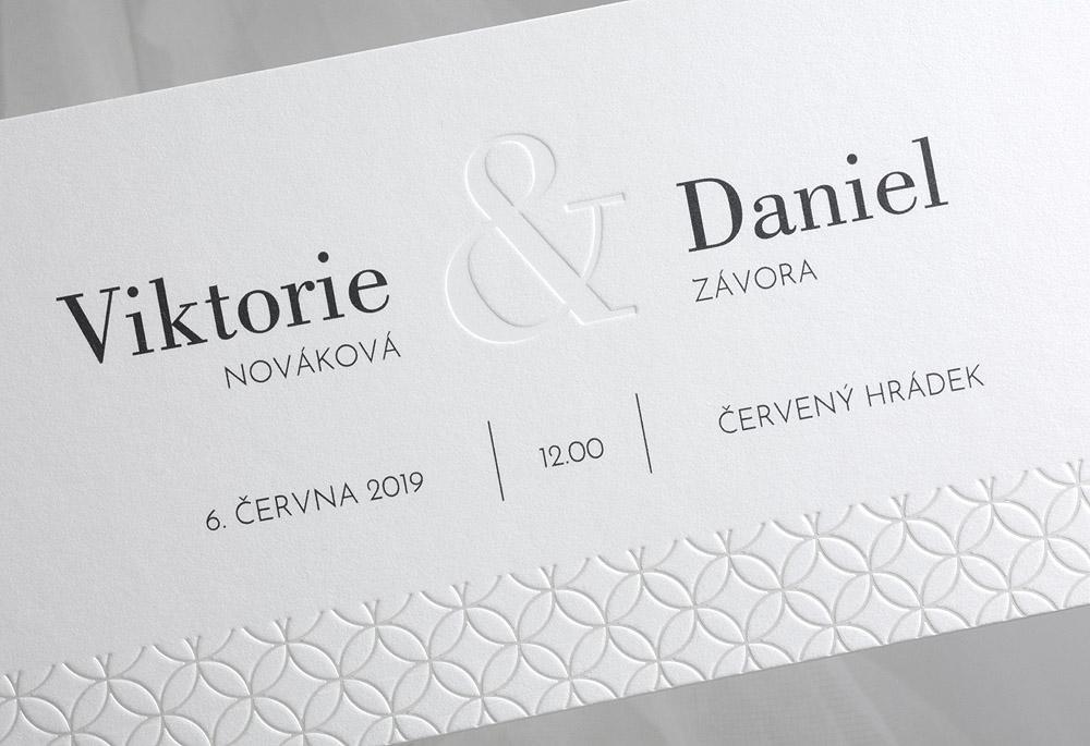 Svatební oznámení SK359