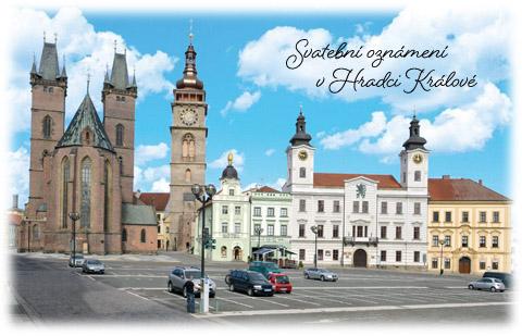 Svatební oznámení Hradec Králové