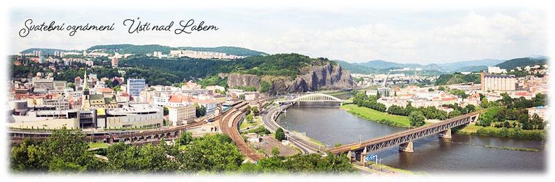 Svatební oznámení Ústí nad Labem