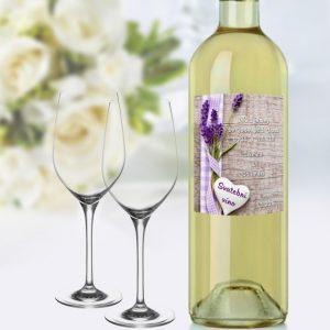 samolepka na víno