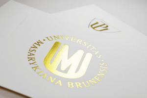 promoční oznámení Masarykova univerzita