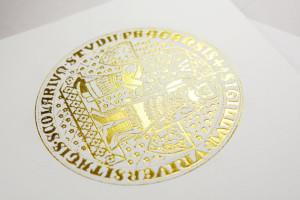 promoční oznámení Univerzita Karlova