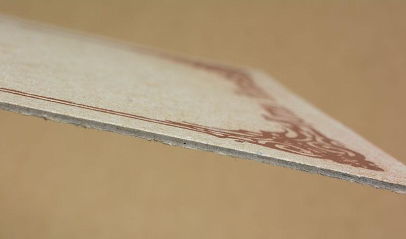 Tisk na extrémně silný papír
