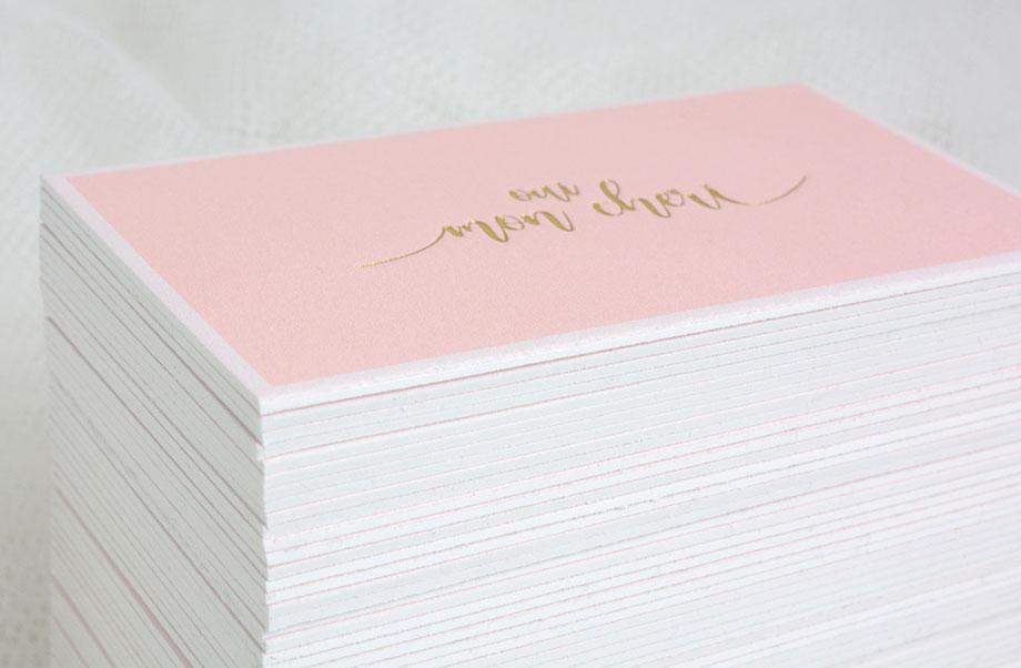bavlněné vizitky 1 mm silný papír