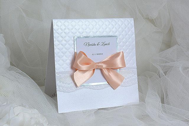 Svatební oznámení leporelo